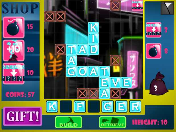 Tower-Words Screenshot